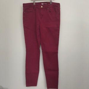 Burgundy GAP leggings